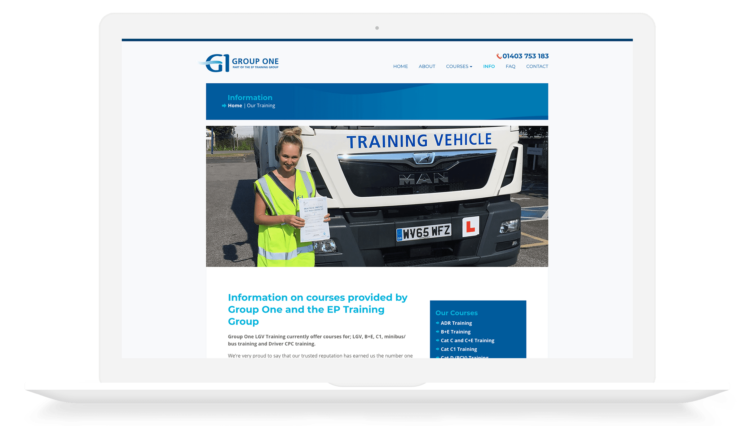 Group One HGV Training